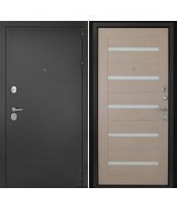 Входная дверь Гарант-1 Царга Капучино