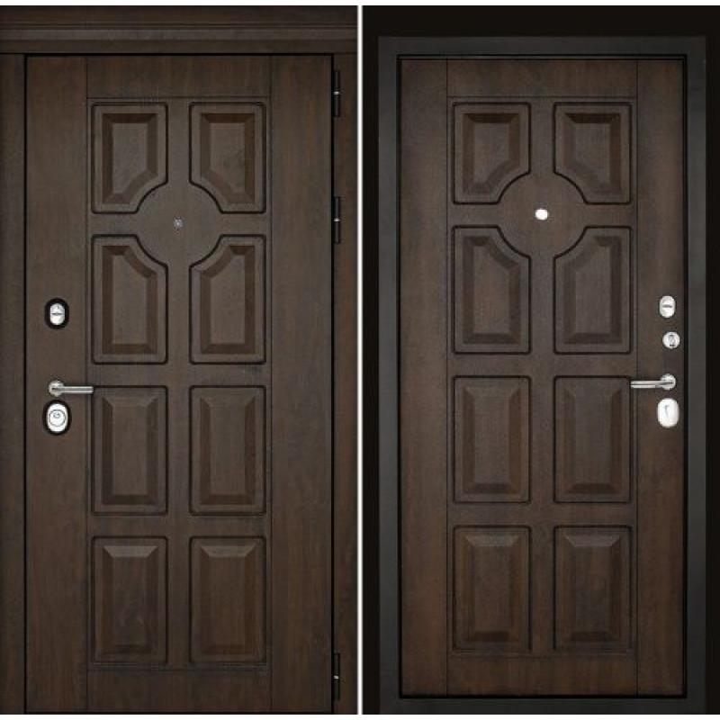 Входная дверь Милан Темный орех