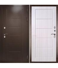 Входная дверь Термаль Экстра Лиственница бежевая