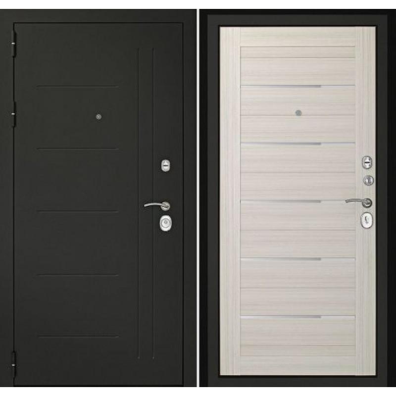 Входная дверь Сити-С3К Беленый дуб