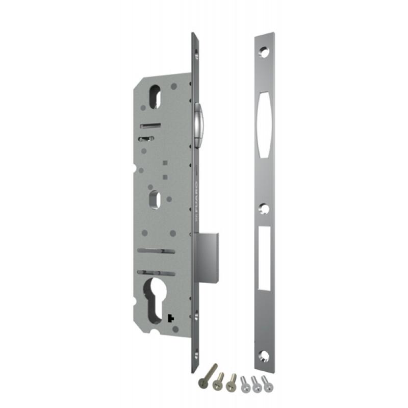Корпус узкопрофильного Fuaro (Фуаро) замка с роликовой защёлкой 5116-25 CP (хром)