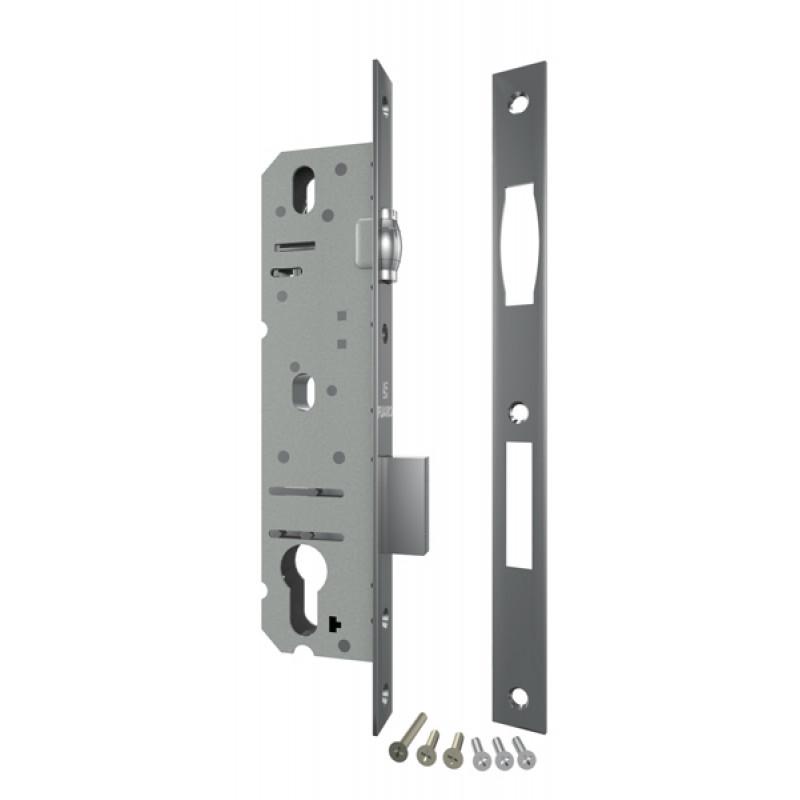 Корпус узкопрофильного Fuaro (Фуаро) замка с роликовой защёлкой 5124-25 CP (хром)