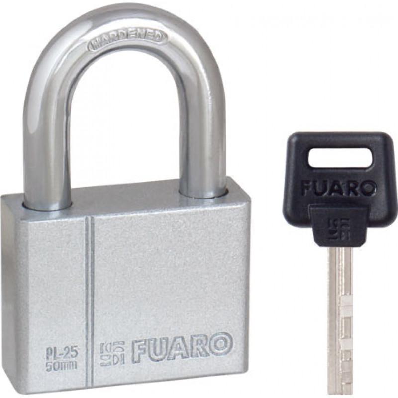 Замок навесной Fuaro (Фуаро) PL-2550 (50 мм) 4