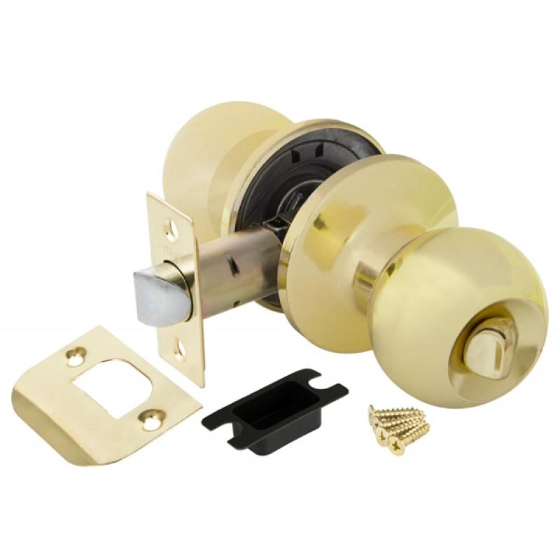 Ручка защелка Punto (Пунто) 6072 PB-B (фик.) золото
