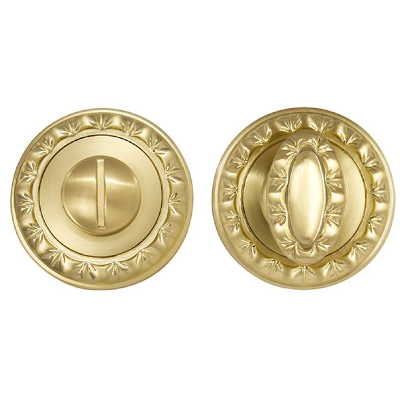 Ручка поворотная Punto (Пунто) BK6 MT SG/GP-4 матовое золото/золото