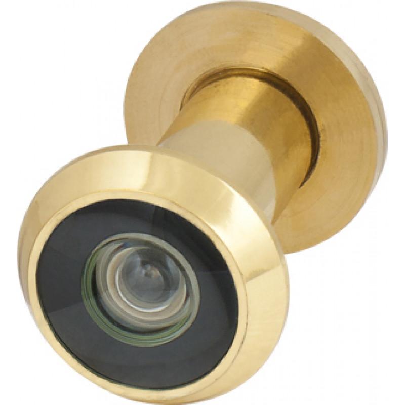 Глазок дверной, Armadillo (Армадилло) пластиковая оптика DV1, 16/35х60 GP Золото SKIN PACK