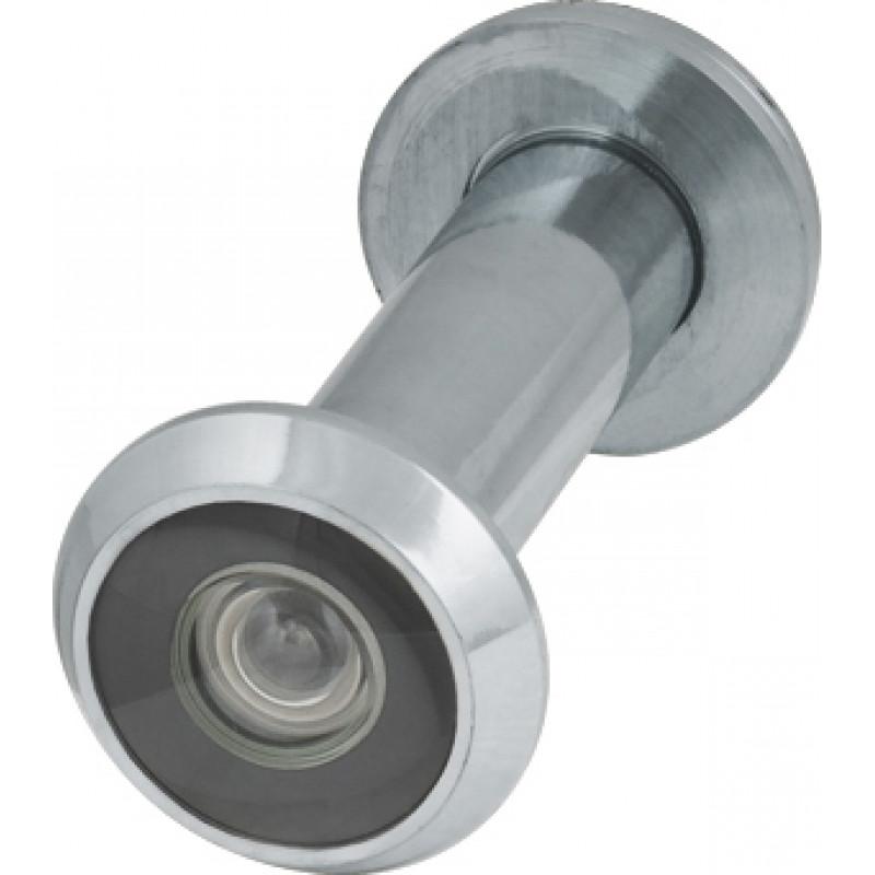 Глазок дверной, Armadillo (Армадилло) пластиковая оптика DV2, 16/55х85 CP Хром
