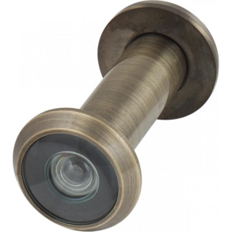 Глазок дверной, Armadillo (Армадилло) стеклянная оптика DVG2, 16/55х85 AB Бронза