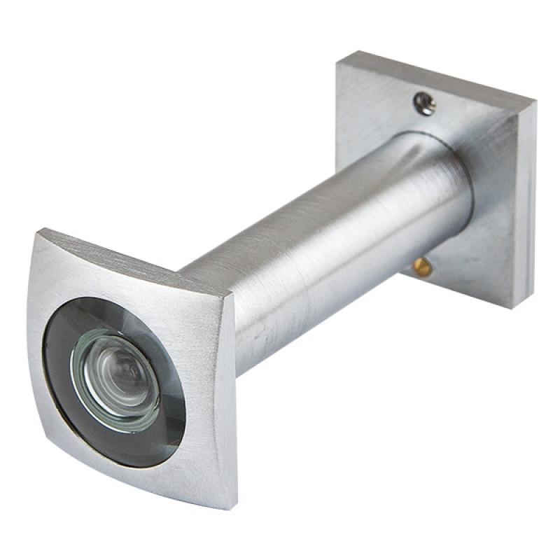 Глазок дверной Armadillo (Армадилло) КВАДРАТНЫЙ, DVG6 SQ, 16/70х110 SC Мат.хром