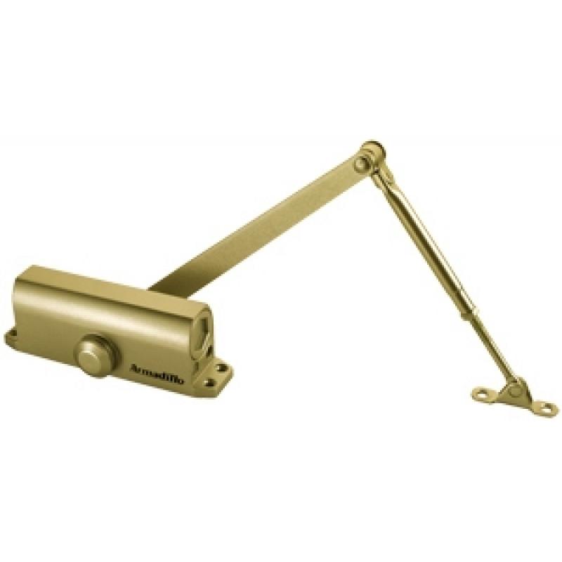Доводчик дверной Armadillo (Армадилло) морозостойкий LY5 120 кг (золото)