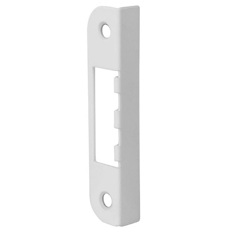 Ответная планка Fuaro (Фуаро) 068 для дверей с притвором к замкам 2018 и 2014 WC/S-WH (белый)