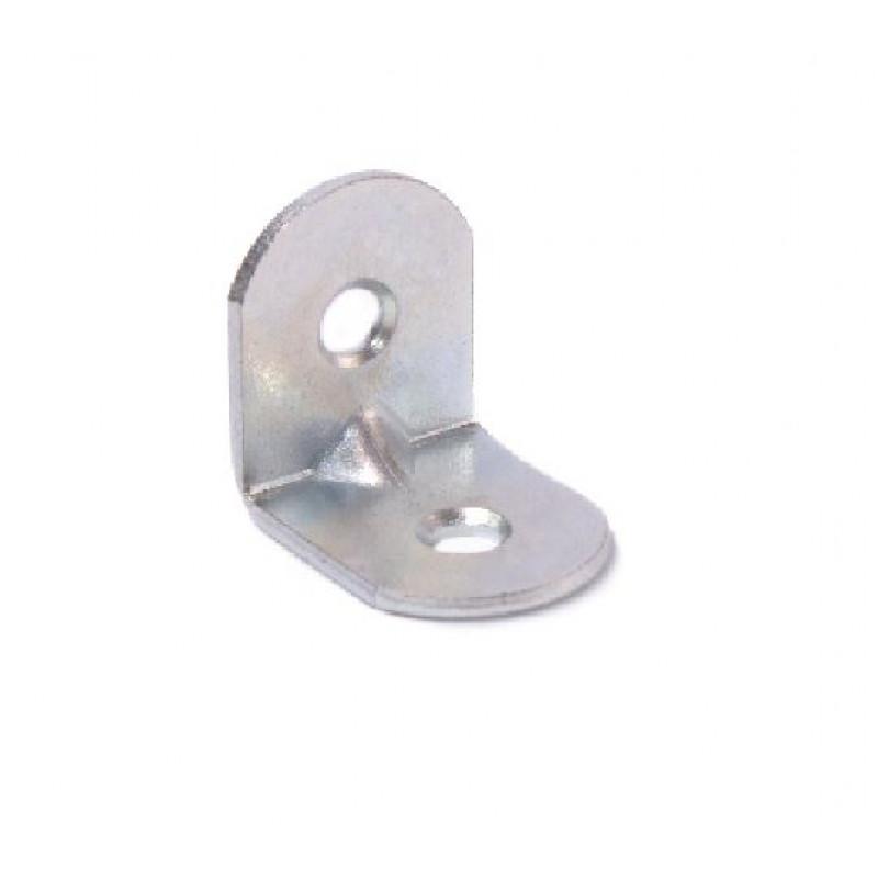 Кронштейн мебельный МК 20х20х16х1,5 цинк белый
