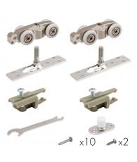 Комплект Armadillo (Армадилло) для раздвижных дверей Comfort - PRO SET 1 /rollers/ 80 (CFA170)