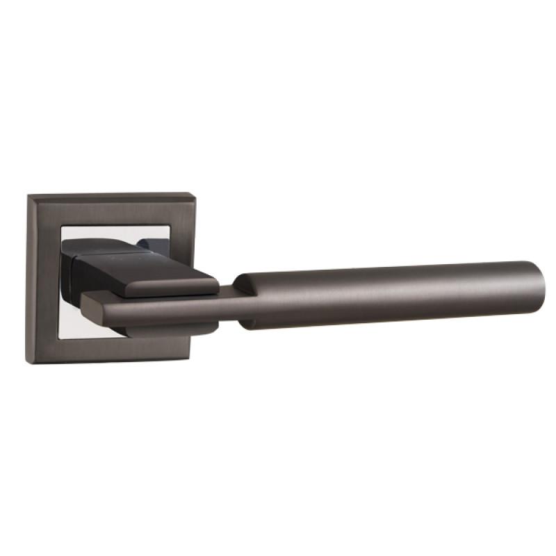 Ручка раздельная Punto (Пунто) CITY QL GR/CP-23 графит/хром