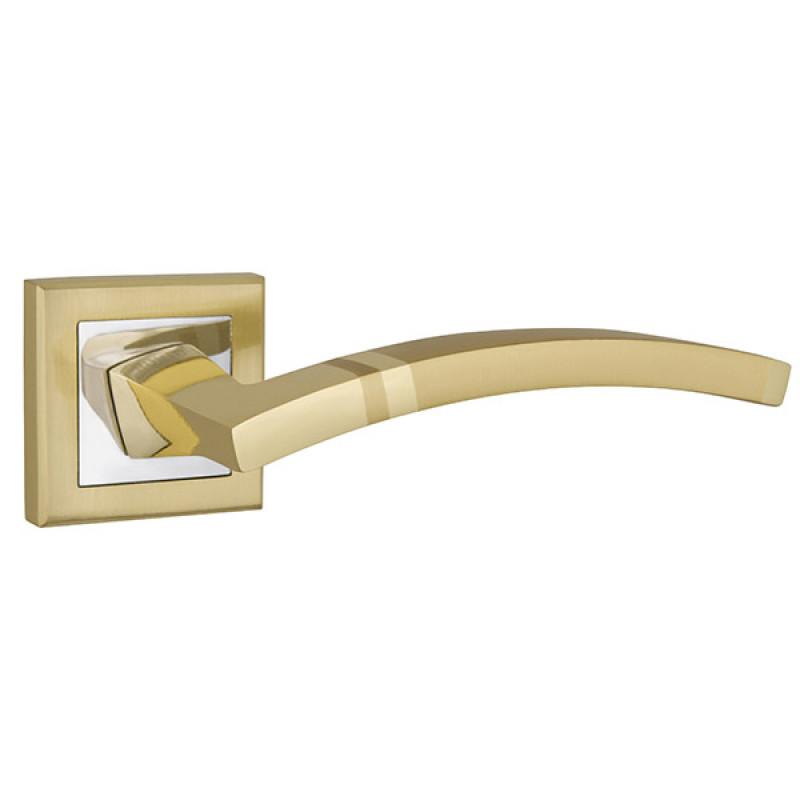 Ручка раздельная Punto (Пунто) NAVY QL SG/CP-4 матовое золото/хром