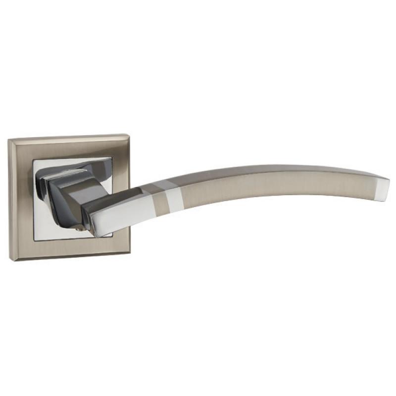 Ручка раздельная Punto (Пунто) NAVY QL SN/CP-3 матовый никель/хром