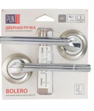 Ручка раздельная Punto (Пунто) BOLERO TL/HD SN/CP-3 матовый никель/хром
